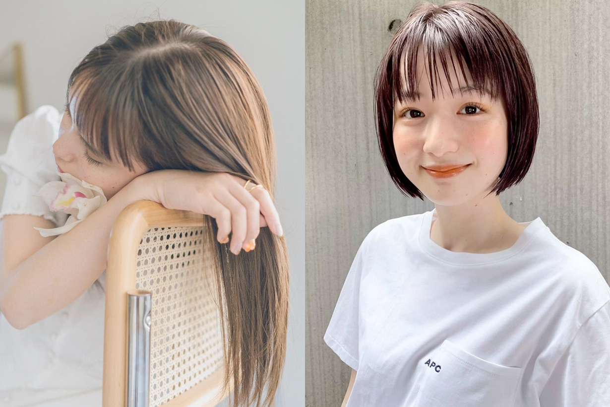 2021 hairstyle inspiration straight short long hair