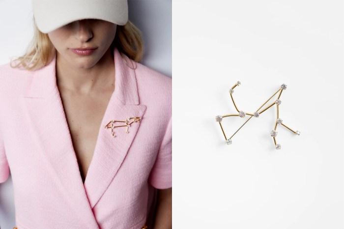 趕快趁著斷貨前入手!Zara 推出星座胸針,是點綴造型的必備飾品!