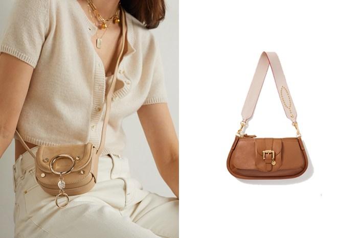 高 CP 值肩背手袋、腋下包:藏在 Chloé 平價支線的新品讓小資女生一見傾心!