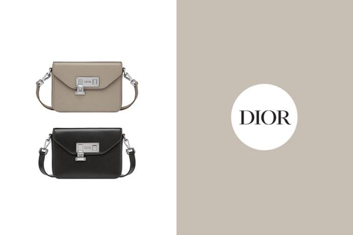 藏在 Dior 男裝新品中:這款實搭度 100 分的手袋默默引起時髦女生關注!