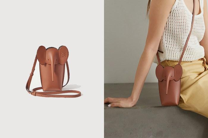 經典大象造型再次登場:除了新手袋,Loewe 還藏了一款令時髦女生傾心的手機包!