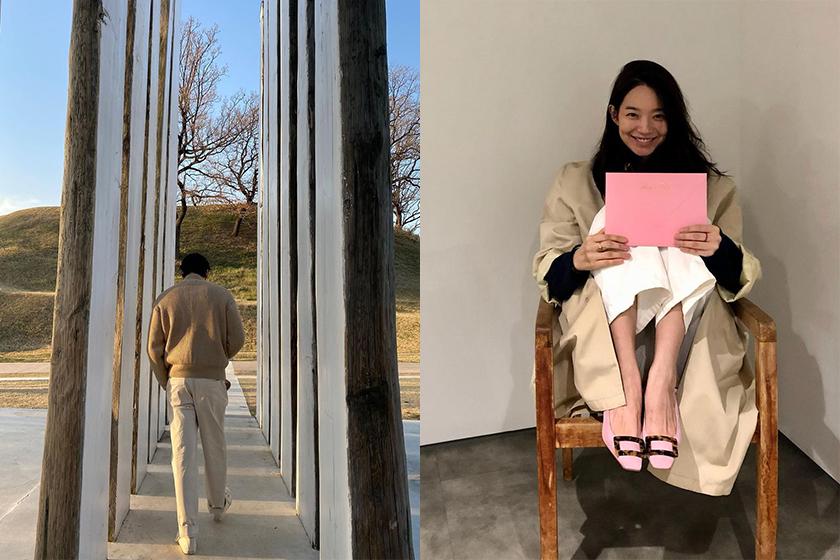 Kim Woo Bin Shin Min Ah Share Instagram Photo On dating