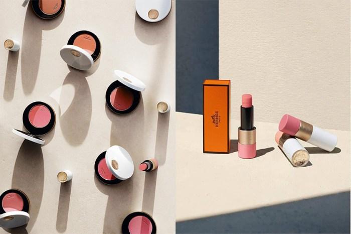 終於開賣!Rose Hermès 系列除了腮紅之外,女生都期待是這款玫瑰色潤唇膏!