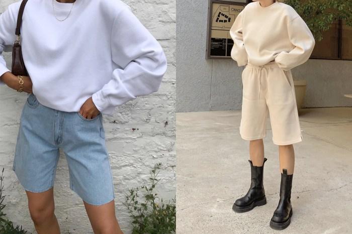 不比熱褲性感,也沒有長褲帥氣… 不過這才是短褲最時髦的長度!