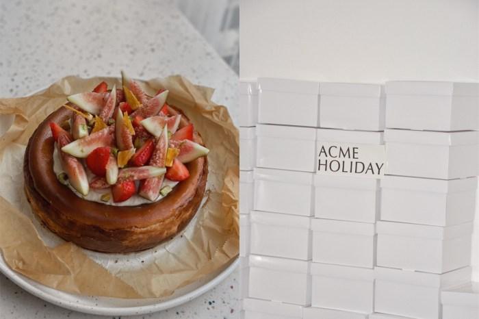 限量 100 顆的誘惑:不手軟的無花果,ACME 新口味巴斯克蛋糕!