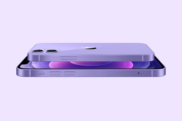 專為時尚女生而設!Apple 推出亮麗的紫色 iPhone 12 及 iPhone 12 mini