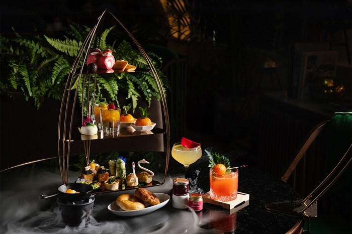 週末去吃下午茶才是正事!Artisan Lounge 推出顏值十分高的美點配雞尾酒