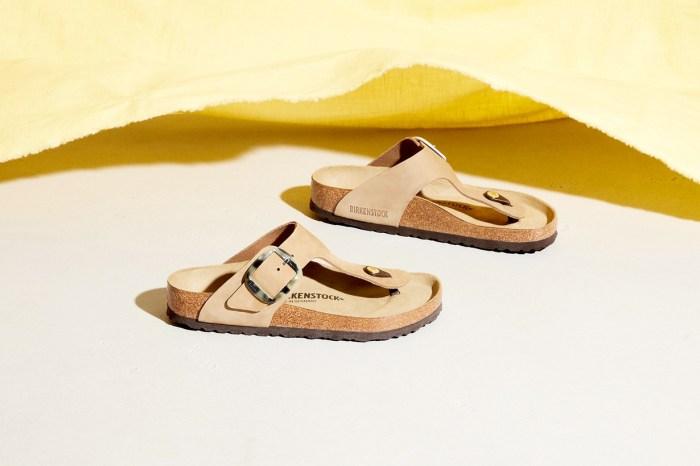 以為是基本款?Birkenstock 推出玳瑁色鞋扣,配上沙色 100% 心動!