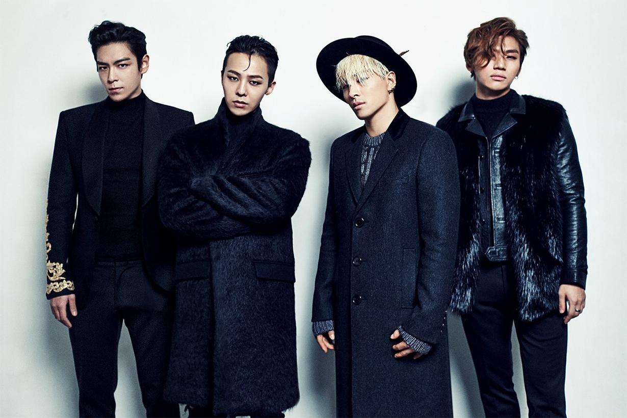 bigbang comeback new profile picture gdragon top daesung taeyang seungri