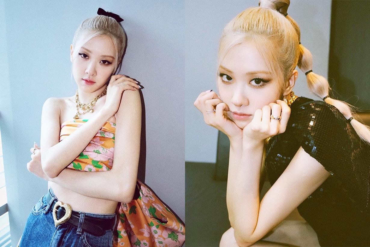 BLACKPINK Rosé Lisa Jennie Jisoo Kira and Misha Korean Indie Brand Accessories Rings Korean idols celebrities singers girl bands