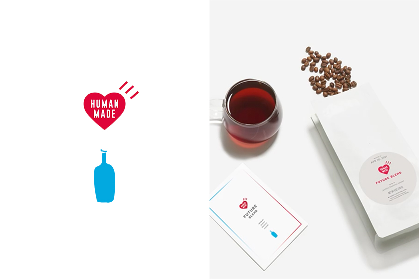 blue bottle coffee human made exclusive capsule collection release