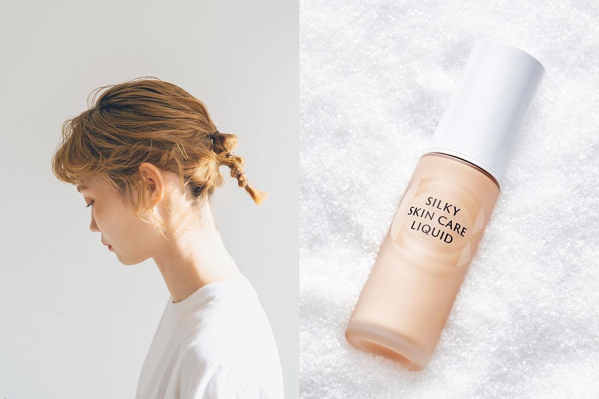 Cefine Silky Skin Care Liquid Watery Foundation Base Makeup Japanese Cosmetics Makeup