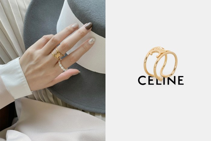 低調常賣款:這一枚 Celine 戒指,10 年後還是保值!