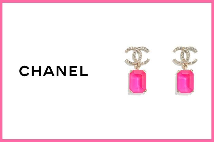 沒想過螢光粉紅也能如此優雅!Chanel 新季系列的這雙耳環是讓你華麗起來的武器!