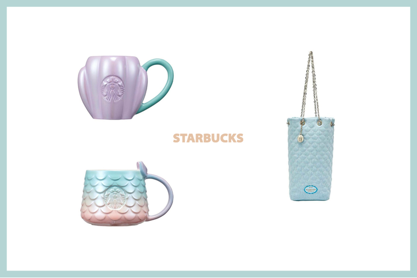 Korea Starbucks 2021 summer ocean collection