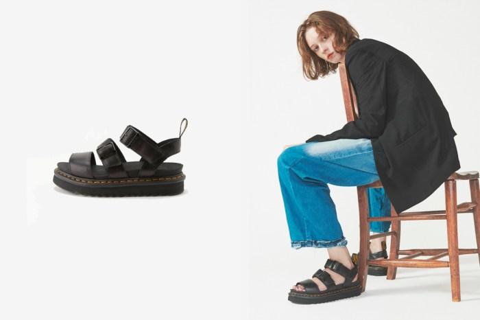 夏天的時髦味:Dr. Martens 厚底涼鞋,住進個性女生的心!