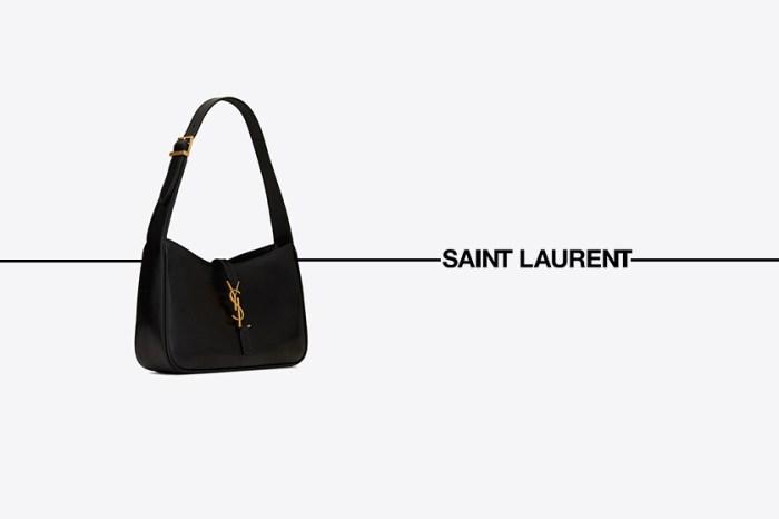 不買會後悔:Saint Laurent 俐落馬鞍包,YSL 金屬扣+剛好尺寸!