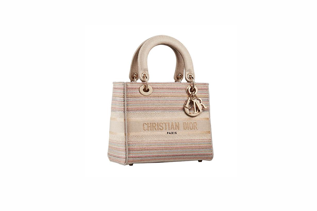 dior 2021 summer capsule gold collection handbags Maria grazia chiuri