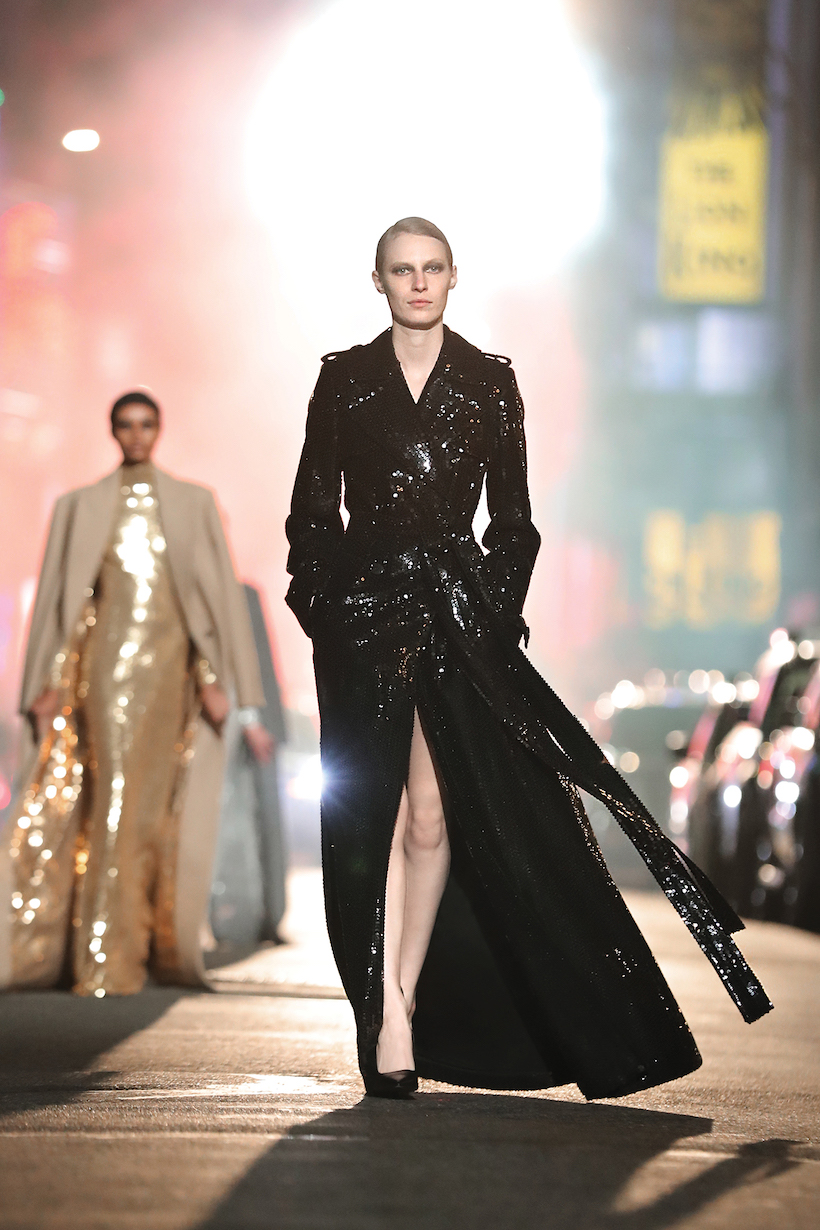 Michael Kors 2021 FW New york broadway runway