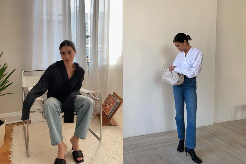 2021 best jean trends instagram fashion blogger
