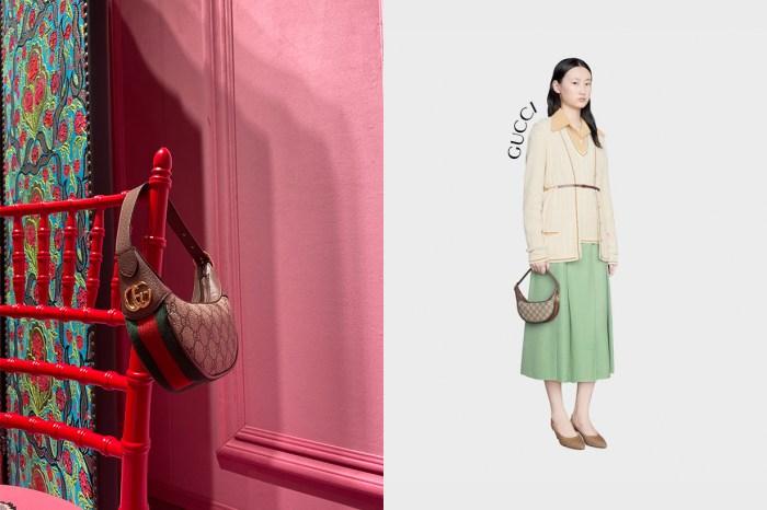迷你手袋的漏網之魚,Gucci 這一枚彎月包怎能錯過?
