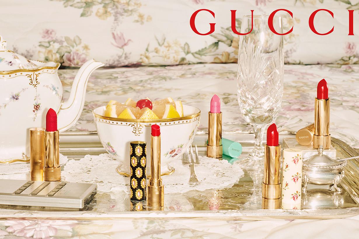 Gucci Beauty Rouge De Beauté Brillant Lipsticks Collection