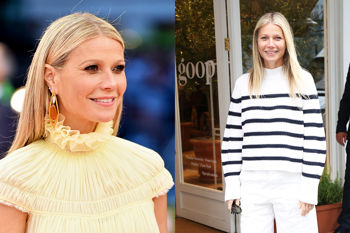 Gwyneth Paltrow Vogue sharing skincare tips celebrities skincare routine sunscreen clean beauty Goop