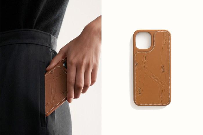 終於等到 Hermès 第一款手機殼:簡約奢華,還能防摔防撞!