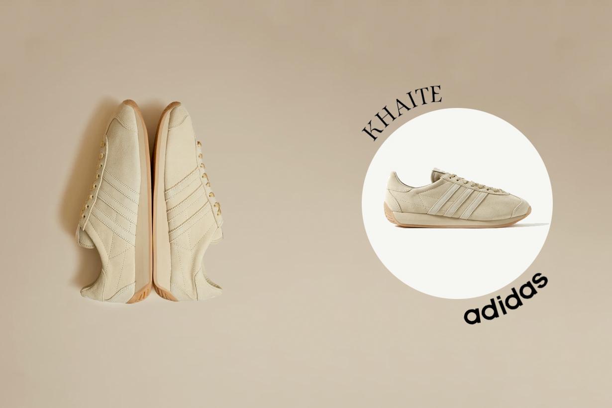 khaite adidas originals country 2021 ss sneakers suede