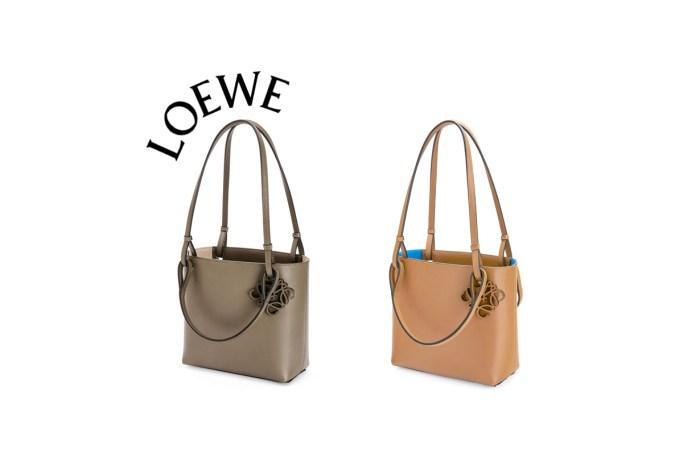 還是簡單最耐看:Loewe 雙手把方包,正中上班族的心!