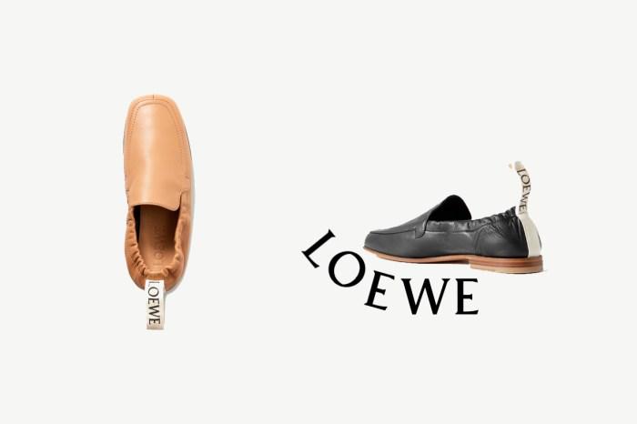 懶人必備:Loewe 兩穿小皮鞋,藏了一發現就會很心動的細節!