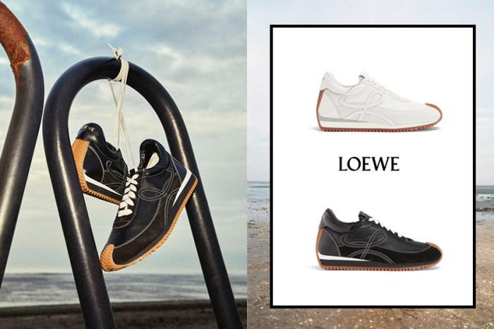 下一雙爆款:Loewe 今季值得你入手的單品除了手袋,還有這雙波鞋!