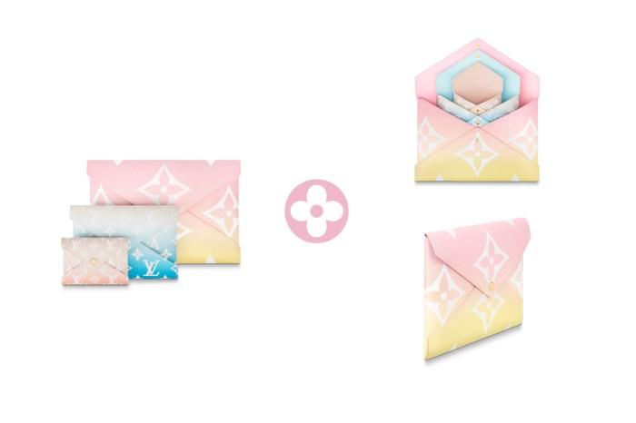 小資好負擔:Louis Vuitton 信封皮夾 3 件組,從平板到名片都能裝!