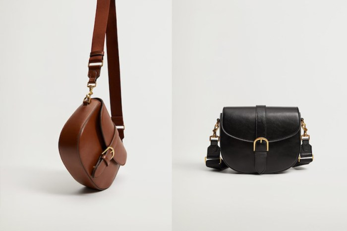 平價高質單品:HK$400 有找!Mango 這個馬鞍包時髦女生必帶一件!