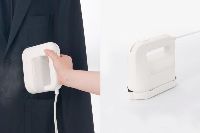 家電外貌協會者看過來,日本無印良品推出熨斗了!