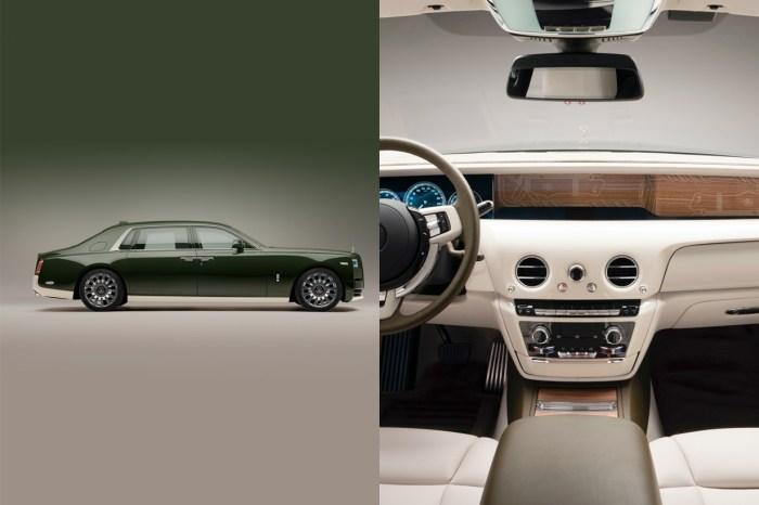 極奢華訂製:內裝由 Hermès 打造,全球僅有一台的 Rolls-Royce!