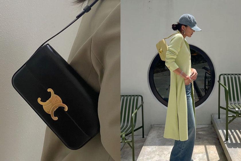 Celine Triomphe Shoulder Bag invest reason 2021ss
