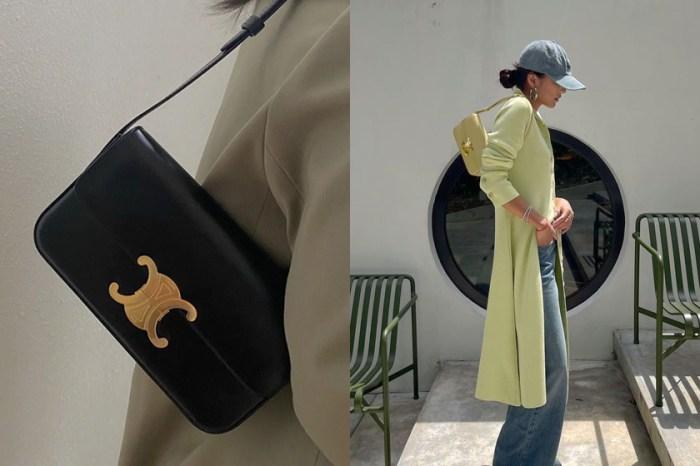 空降 It Bag:為何非它不可?5 個理由入手 CELINE Triomphe肩背包!