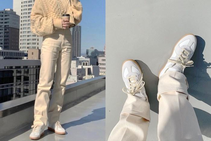 不只個性還有可愛,Maison Margiela 極簡波鞋攻佔 IG!
