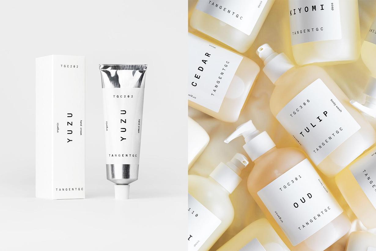 Tangentgc Sweden Organic Skincare Brand Hand cream Hand Wash soap body wash body lotion