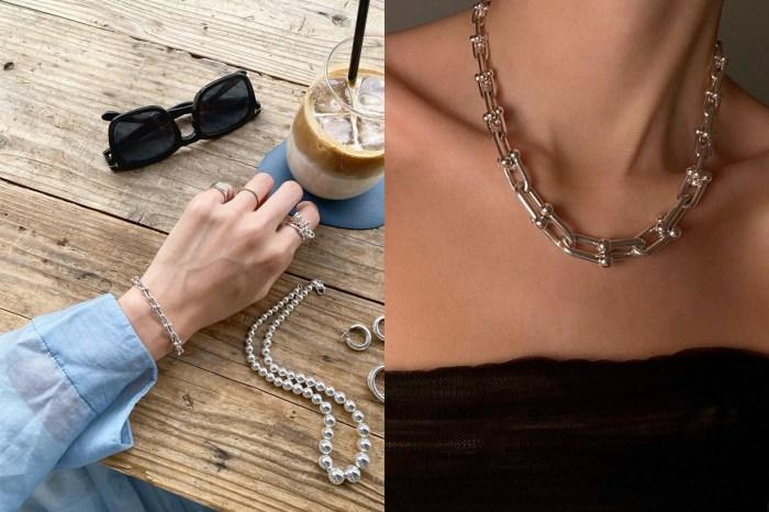 來點不一樣的 Tiffany&Co.?硬派的鏈條,帥氣的很迷人!