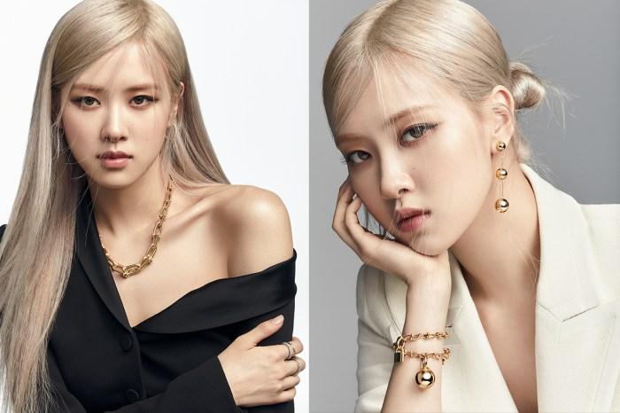 又掀起搶購潮!BLACKPINK ROSÉ 成為 Tiffany & Co. 全球品牌代言人