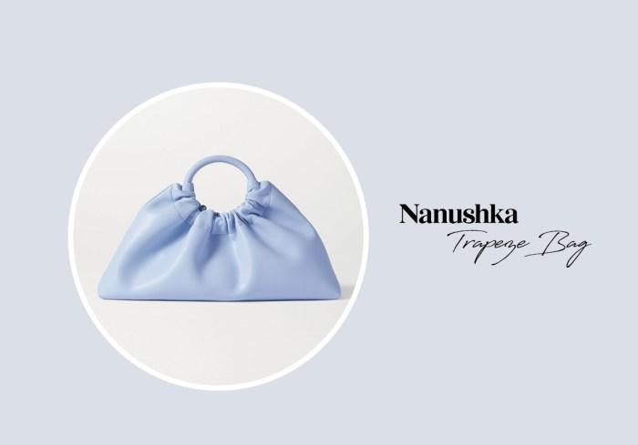 可以握在手中的夢幻,這個親民版雲朵包就是配搭小白裙的 No.1 手袋!