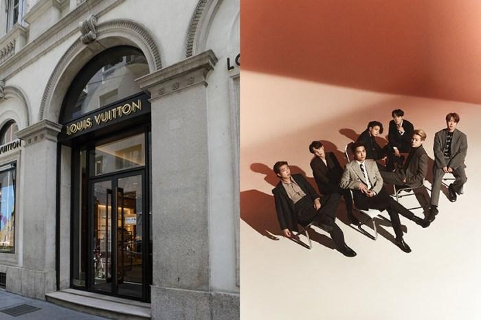 擠身時尚圈:Louis Vuitton 宣佈 BTS 防彈少年團成全球形象大使!