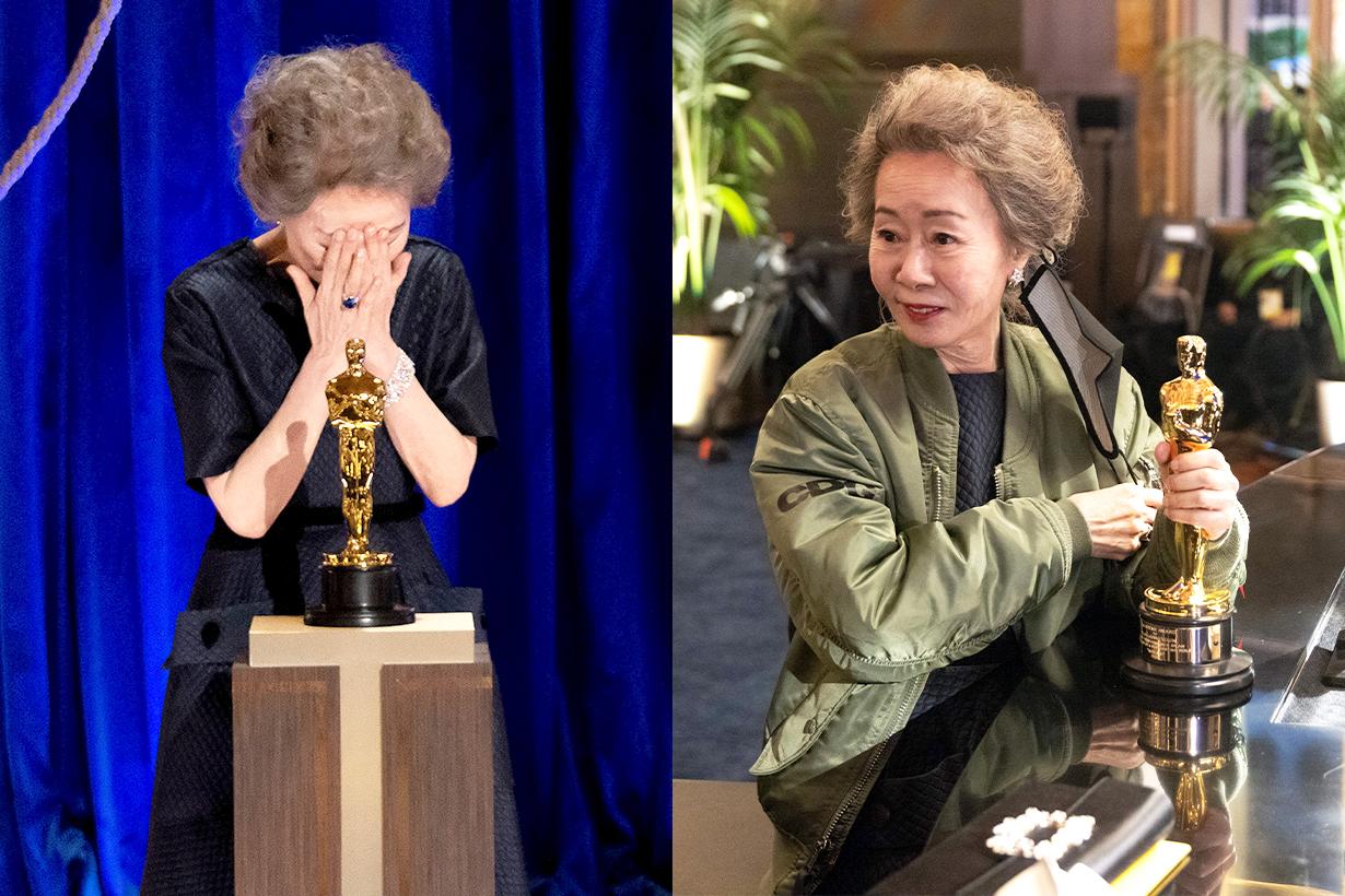 2021 Oscars Youn Yuh Jung Best Supporting Actress Minari Korean Movies Korean idols celebrities actresses