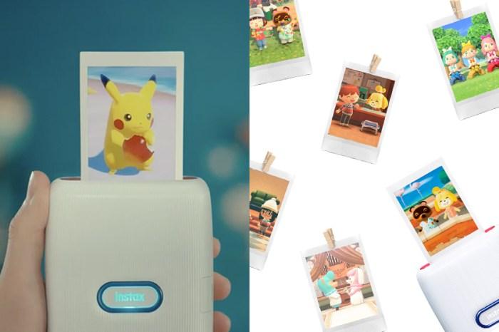 任天堂與 Fujifilm 合作推出拍立得相印機,可以直接印出 Switch 遊戲中的可愛畫面!