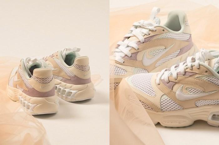 淡淡奶油色陪你步入初夏:Nike 新上架這雙 Zoom Air Fire 復古又優雅!