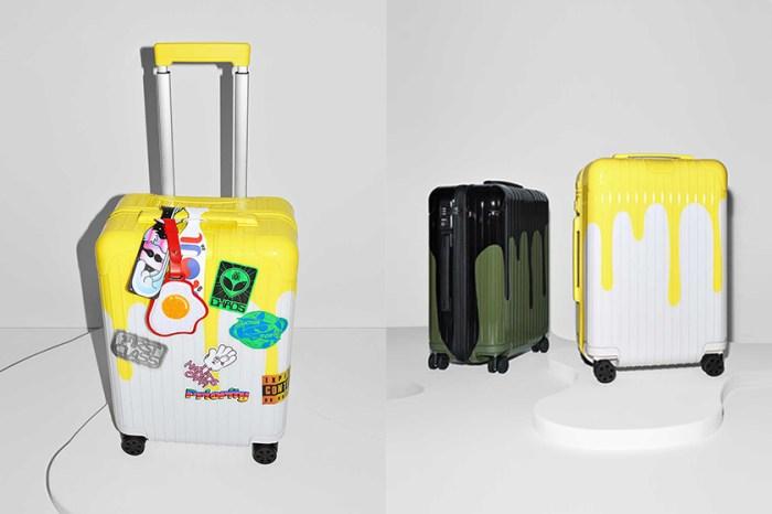 行李箱上打翻了油漆罐:如此獨特的 Rimowa 原來是和 Chaos 推出的聯名系列!