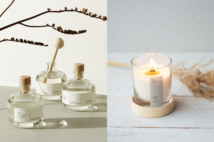 讓人著迷的日式美學:天然系小眾香氛「Hetkinen」,來自北國森林的木質調氣味。