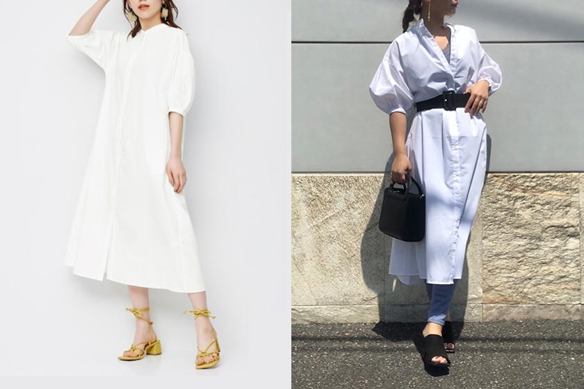 GU shirt dress 2021 summer Style Idea